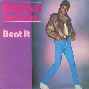 MJ Beat It Single