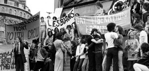 """We did, however, google for """"gay protest photograph""""."""