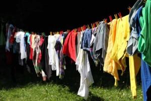 Unfortunately somebody still has to do the laundry.