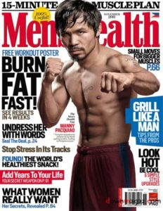 Men's Health is a gay porn magazine and nothing you can say will disavow us of that belief!